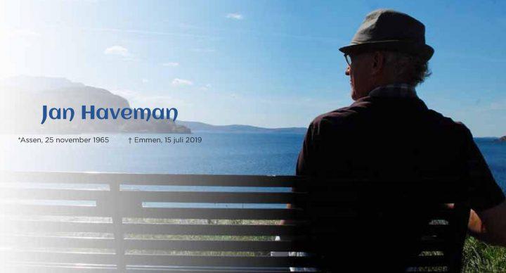 Jan Haveman overleden