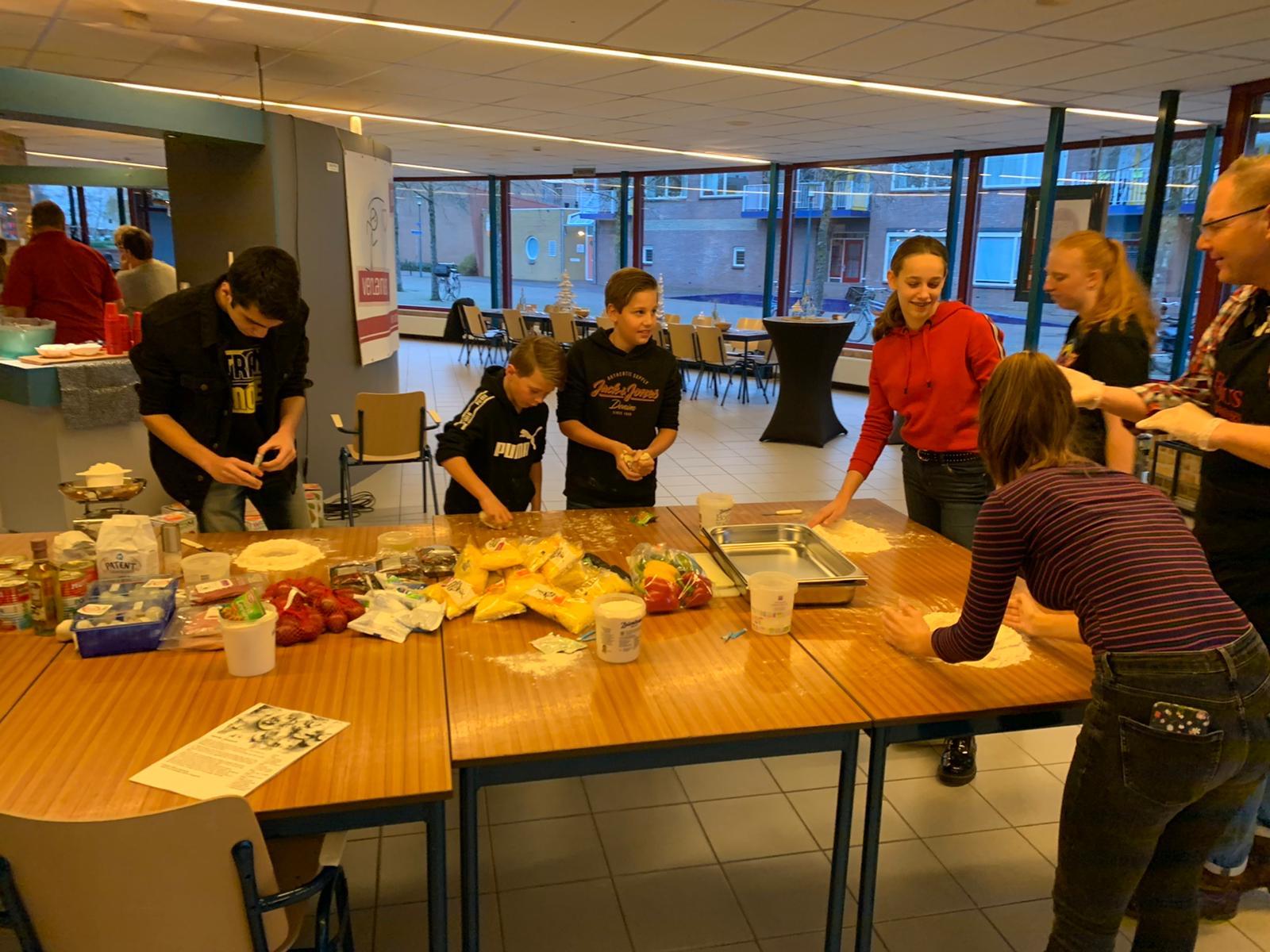 Workshops en lekker eten in de Open Poort : Doe-dag