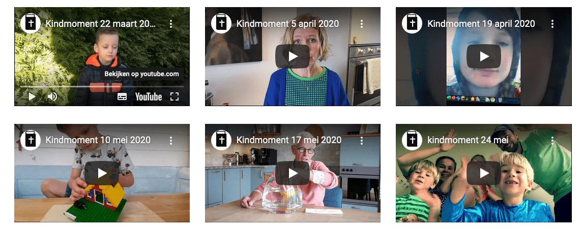 Filmpjes Kijk in de Wijk en Kindmomenten