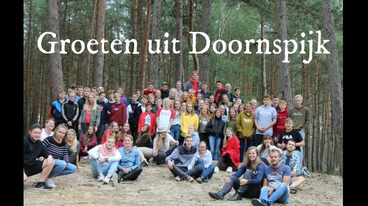 Een groet vanuit Doornspijk - Jeugdkamp 2020