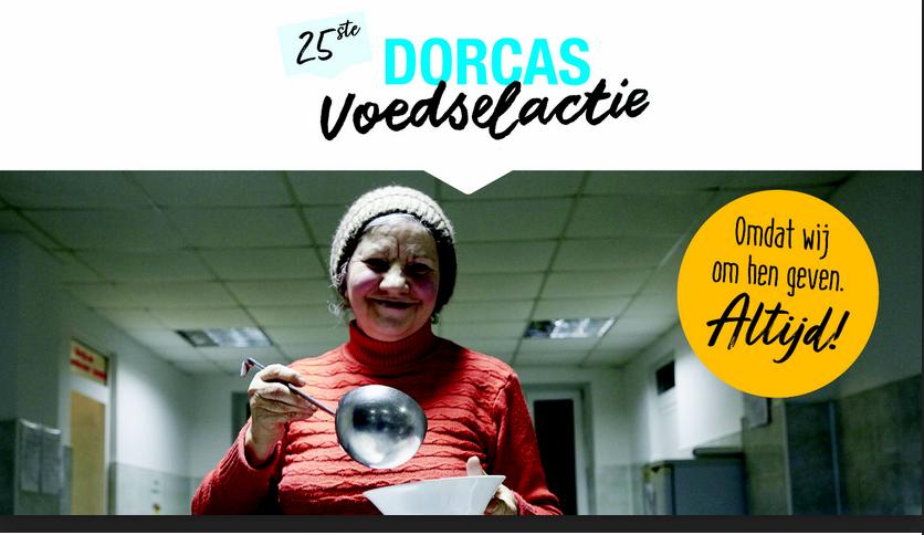 Vrijwilligers gezocht voor Dorcas voedselactie
