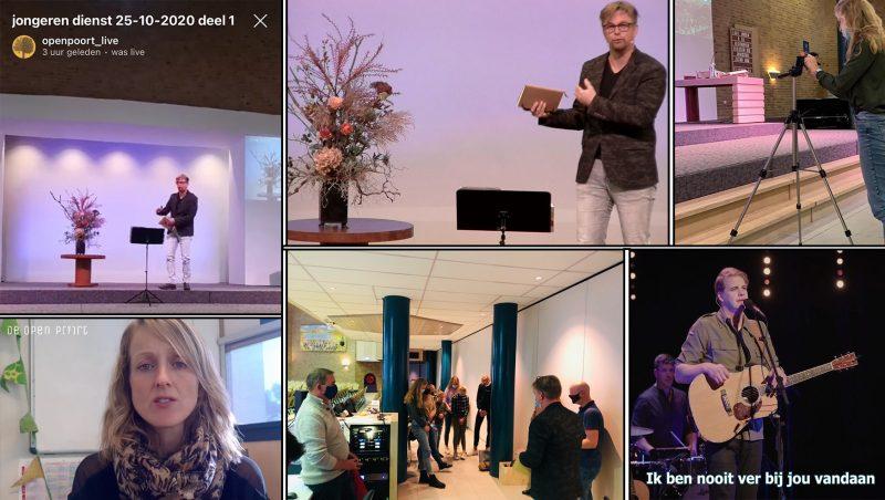 Grote betrokkenheid en inzet rondom online kerkdiensten