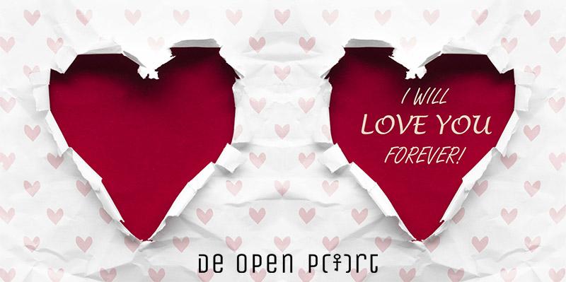 Een valentijnskaart voor onze jongeren