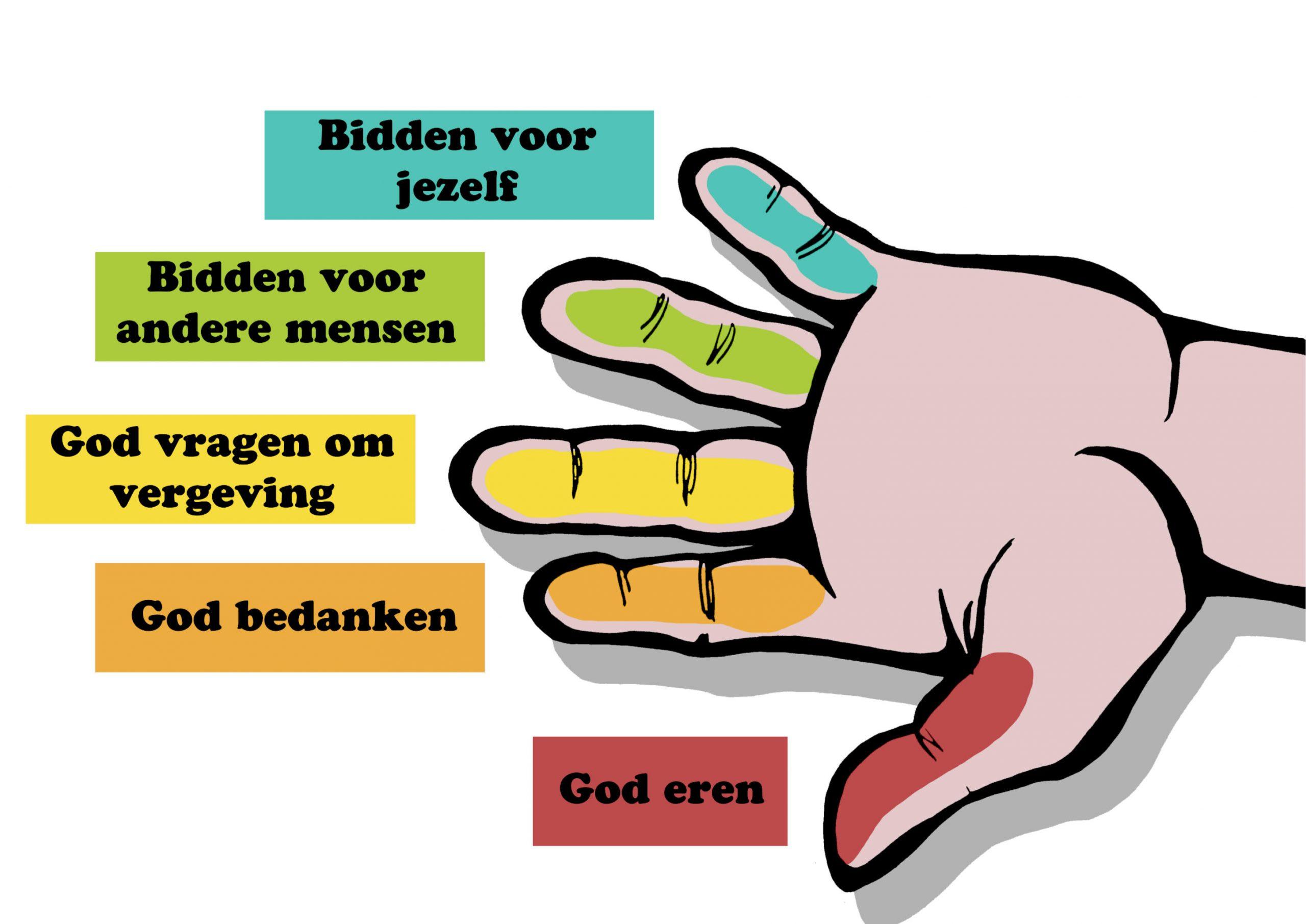 Gebedshand (High Five !)